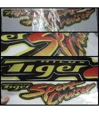 (หมดชั่วคราว)สติ๊กเกอร์แต่งรถ (STICKER) TOYOTA - Hilux Tiger Sport Cruiser