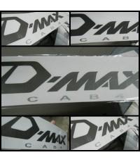 สติ๊กเกอร์แต่งรถ (STICKER) ISUZU - DMAX CAB 4 มีสี **หมดชั่วคราว**