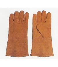 ST-04-0007 ถุงมือหนังบุกันความร้อน