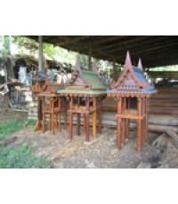 ศาลเจ้าที่ไม้ทรงไทย 4