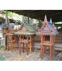 ศาลเจ้าที่ไม้ทรงไทย 6