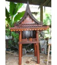 ศาลเจ้าที่ไม้ทรงไทย 5