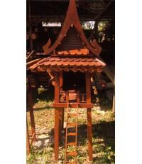 ศาลเจ้าที่ไม้ทรงไทย 2