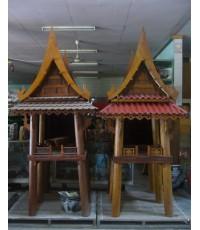 ศาลเจ้าที่ไม้ทรงไทย