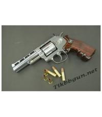 ปืนอัดลม แบบลูกโม่  WINGUN 4นิ้ว  สีเงิน