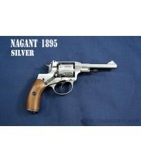 ปืนอัดลม (ปืนระบบแก๊ส) รุ่น NAGANT  M1895  Silver