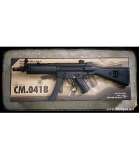 ปืนอัดลม ระบบไฟฟ้า รุ่น Mp5ท้ายเต็ม (CM041B) บอดี้เหล็ก เฟืองเหล็ก จาก Cyma