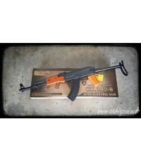 ปืนอัดลม ระบบไฟฟ้า AK47ม้วนหาง  CM042S ไม้แท้ๆ จาก Cyma
