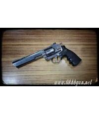 ปืนอัดลม แบบลูกโม่  WINGUN 6นิ้ว  สีเงิน DanWatsan
