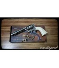 ปืนลูกโม่คาวบอย Colt SAA  สีเงิน ระบบ Co2