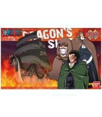 เรือ Dragon  จากการ์ตูน One Piece  ของแท้ BANDAI