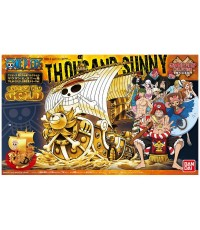 Great Ship Collection: Thousand Sunny (FILM GOLD Public Commemoration Color Ver.) by Bandai