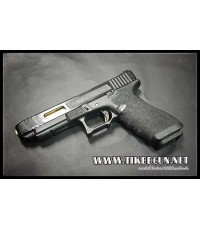 ปืนอัดลม(ปืนระบบแก๊ส) รุ่น Glock34 SAI ท่อทอง  ของ VFC