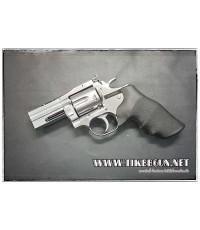 ปืนอัดลม แบบลูกโม่  Gun Heaven 2.5 นิ้ว รุ่น 715  สีเงิน DanWatsan
