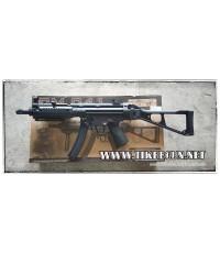 ปืนอัดลม ระบบไฟฟ้า รุ่น Mp5ท้ายเต็มพร้อมรางหน้า (CM041) บอดี้เหล็ก เฟืองเหล็ก จาก Cyma