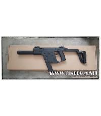 ปืนอัดลมไฟฟ้า Kriss  สีดำ   จาก AK ไม่มีแบตมาเด้อ