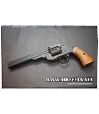 ปืนลูกโม่ คาวบอย Major3 1877  สีดำ  ระบบ Co2