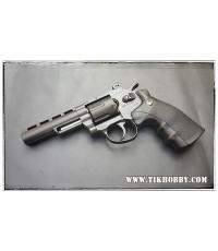 ปืนอัดลม แบบลูกโม่  WINGUN 4นิ้ว  สีดำ ด้ามดำ  708