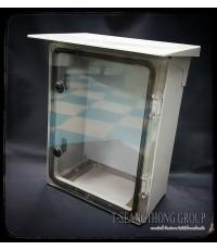 ตู้พลาสติกกันฝุ่นแบบไม่มีหลังคารุ่นใหญ่ ฝาใส RITTO รุ่น EP1/T  ขนาด 310x410x180 มิล.