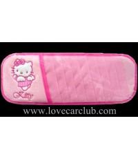 บังแดดใส่ CD - Hello Kitty (สีชมพู / รูป..Kitty มีปีกนางฟ้า)