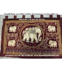 ผ้าปักลายช้าง2