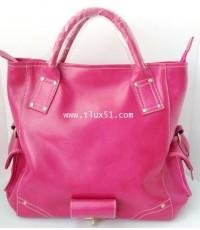 กระเป๋าหนังแท้ เชียงใหม่  T-Lux51 DC001S สีชมพูเข้ม