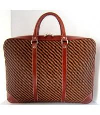 กระเป๋าเอกสารหนังแท้ idini leather WEA099BA ทูโทน มี 1 ใบ