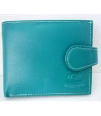 กระเป๋าตังค์หนังแท้ เชียงใหม่  T-Lux51 MB009O  สีเขียวอมฟ้า