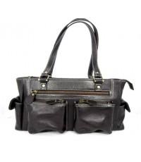 กระเป๋าหนังแท้ T-lux51 Brand BM002C สีน้ำตาลเข้ม