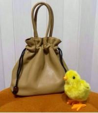 กระเป๋าถุงเงินถุงทอง ถูกสุดๆ สีเบจ