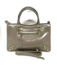 กระเป๋าหนังแท้ Tlux item AP001K สีเทา