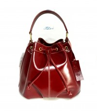 กระเป๋าหนังแท้ Tlux item NP001R สีแดง