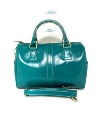 กระเป๋าหนังแท้  Tlux item  BX001F  สีฟ้า