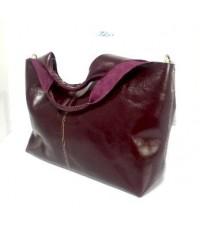 กระเป๋าหนังแท้ Tlux item LK001N  สีม่วง