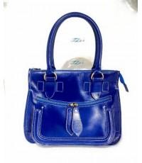 กระเป๋าหนังแท้ tlux Item AN001G  สีน้ำเงิน