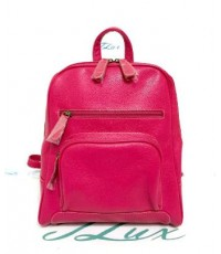 กระเป๋าเป้ หนังแท้ tlux Item CG002S  สีชมพู