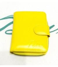 กระเป๋าสตางค์หนังแท้ tlux Item 47 สีเหลือง