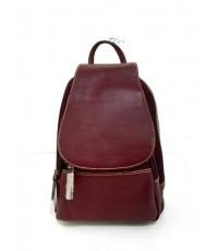 กระเป๋าเป้ หนังแท้ Tlux item CE022N สีม่วง