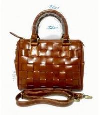 กระเป๋าหนังวัวแท้ Tlux item ABD01B  สีแทน