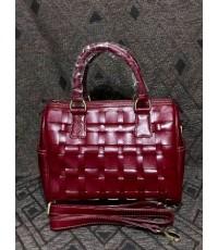 กระเป๋าหนังแท้ tlux  Item ABE04R  สีแดง