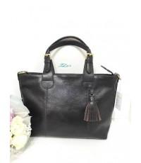 กระเป๋าหนังแท้ tlux  Item  PM001C  สีช๊อค