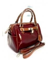 กระเป๋าหนังแท้ tlux  Item  PJ001R  สีแดง