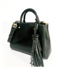 กระเป๋าเป้ หนังแท้ tlux  Item  PR01A  สีดำ