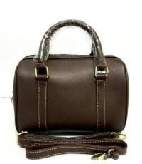 กระเป๋า หนังแท้  Tlux item BB023  สีน้ำตาลอ่อน