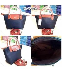 กระเป๋าหนังวัวแท้ Tlux item QN023A  สีดำ