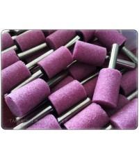 หินเจียร สีชมพู แกน 6.0mm