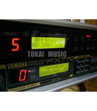 YAMAHA SPX-1000 เอฟเฟคร้อง งานเวทีPA/คาราโอเกะ เสียงหนา ปรับแต่งง่าย ทนทาน MADE IN JAPAN