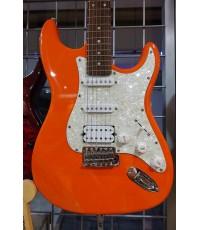 Orange Crush Electric Guitar