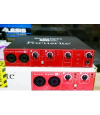 Focusrite SCARLETT (ENGLAND) 8i6 USB2.0 MIDI  Audio Interface 8in 6out 24bit 96kHz