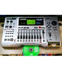 BOSS BR-1180 Digital Recording Studio 10แทร็ค HDD20GB และ CD-RWในตัว ไรท์แผ่นเล่นแผ่นได้ ยังใหม่เอี่